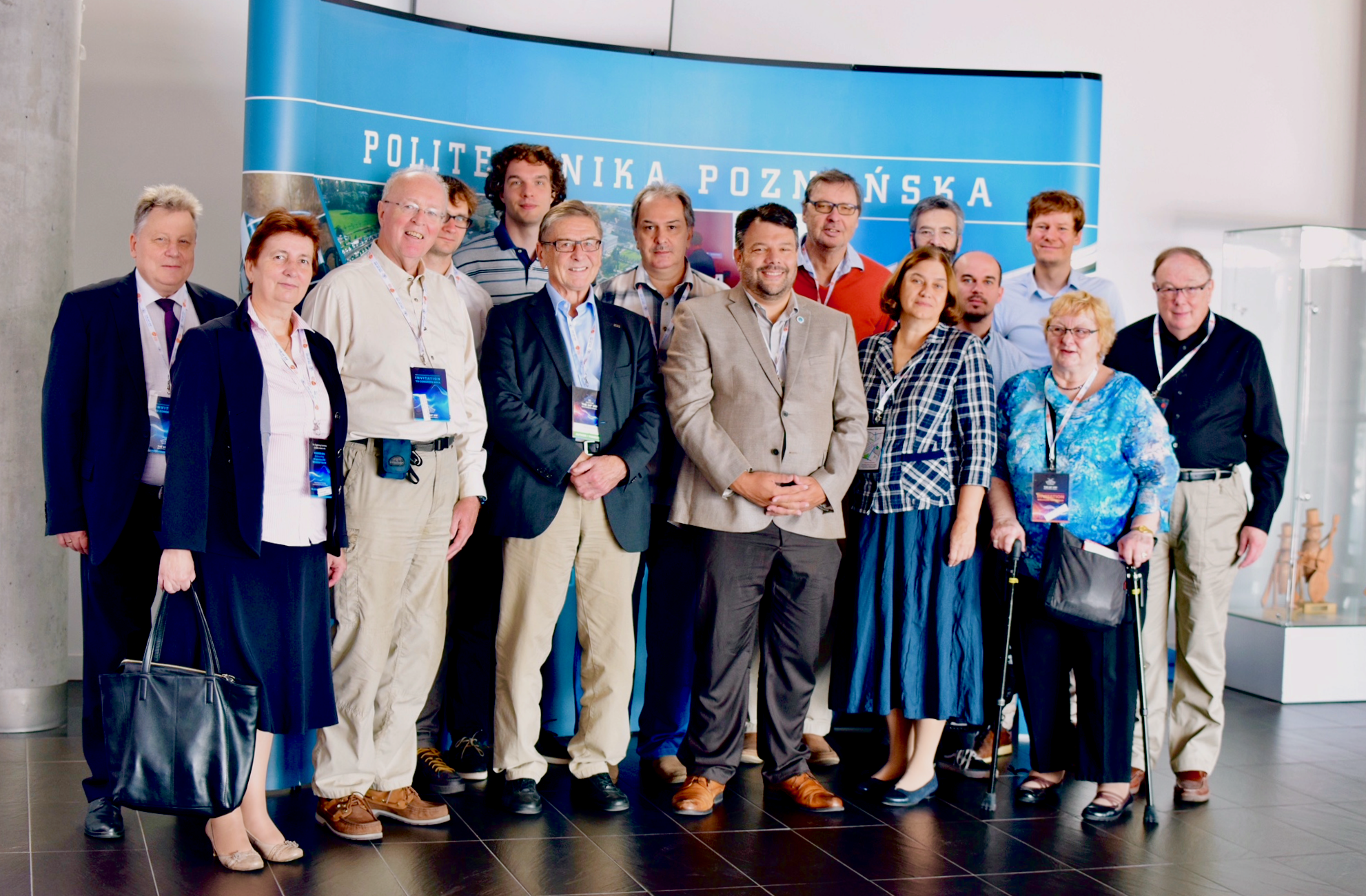 Delegates to the 2018 workshop in Poznań.