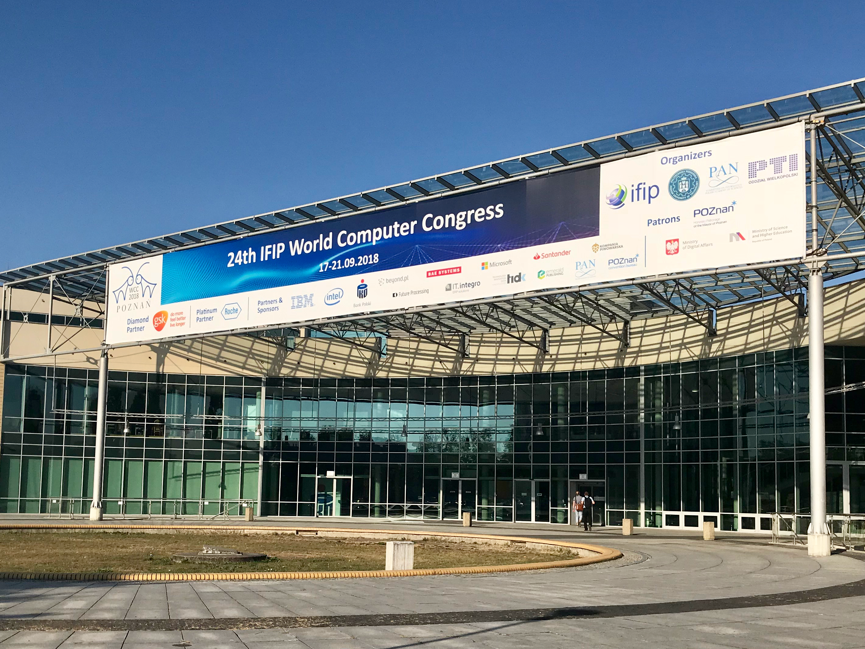 The 24th IFIP World Congress was hosted by the Poznań University of Technology.